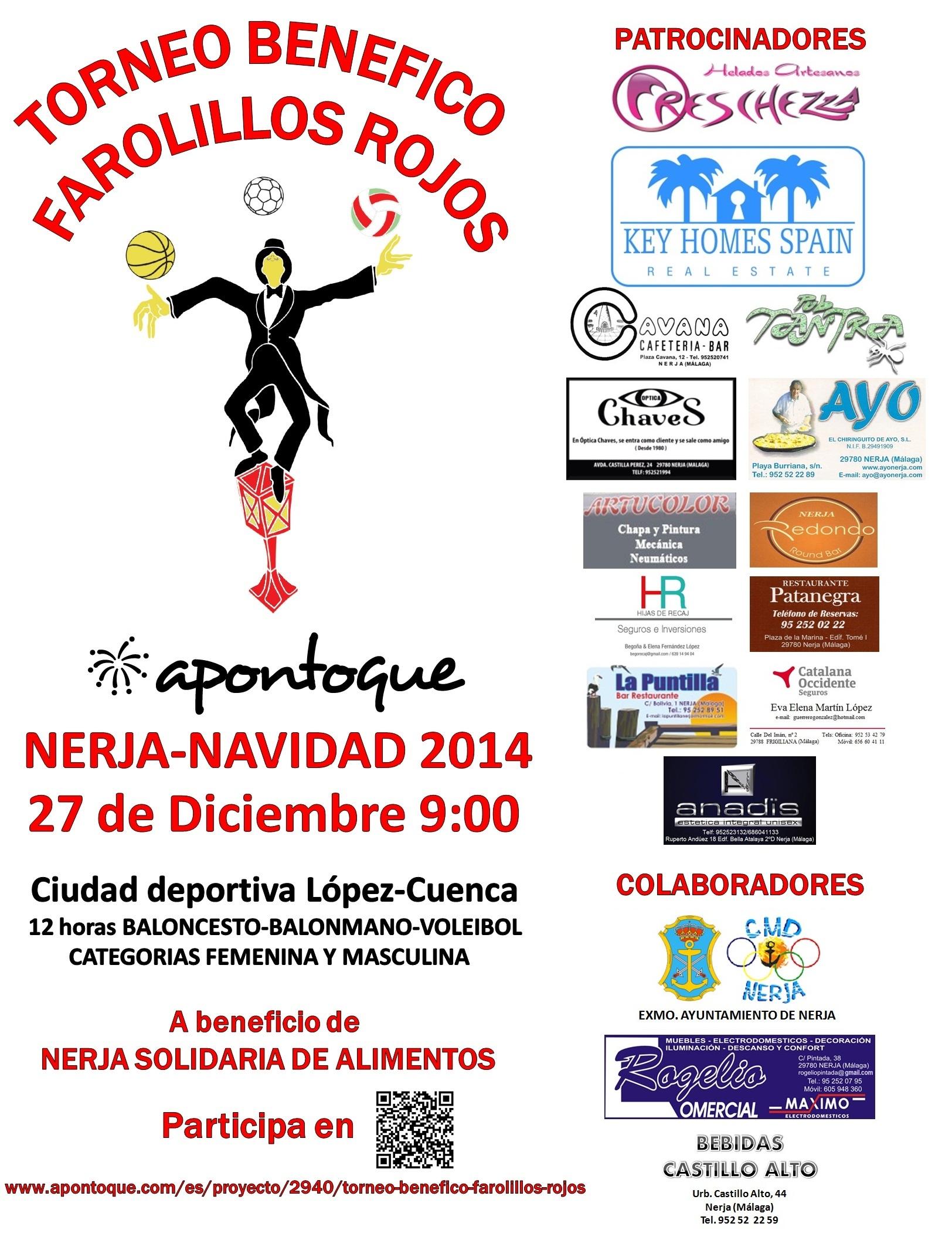 Cartel Farolillos 2014
